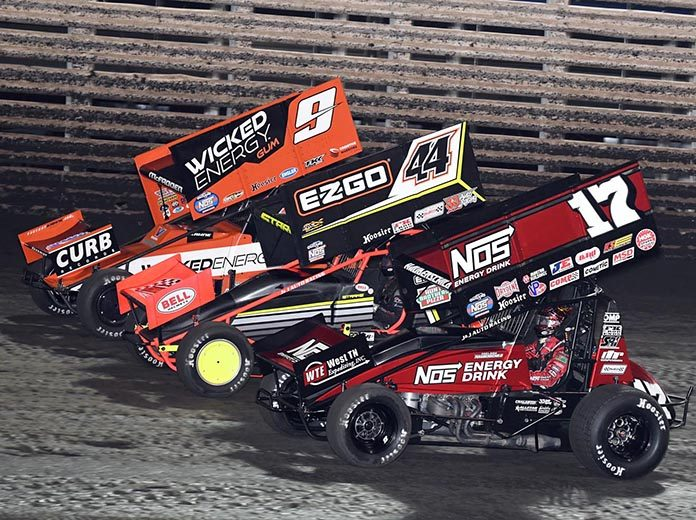 Twenty of the 24-car starters have been determined for Saturday's Knoxville Nationals A-Main. (Frank Smith Photo)