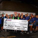 Scott Oksas earned a $100,000 payday during the World Series of Pro Mod on Saturday night. (Joe McHugh Photo)