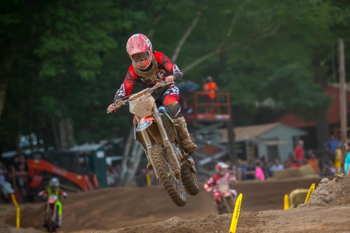 Jonathan Mayzak in action at the Southwick National in June. (Rich Shepherd Photo)