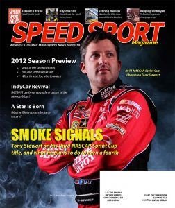 The first issue of SPEED SPORT Magazine, which published in March of 2012.