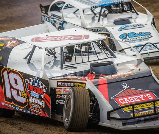 The United States Modified Touring Series is heading to I-35 Speedway this week. (USMTS Photo)