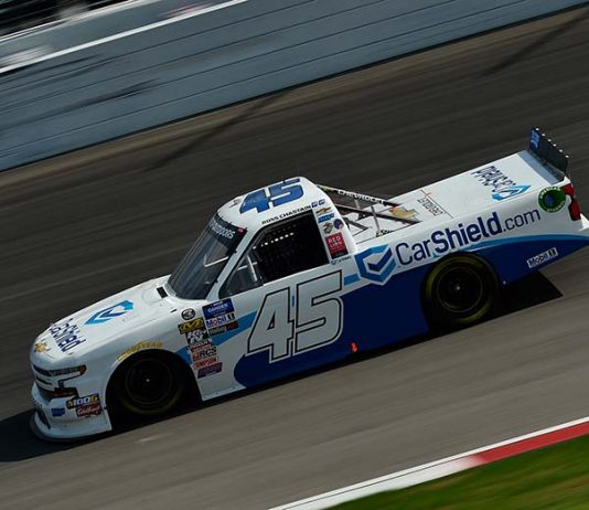 CarShield will return to sponsor Ross Chastain in the final seven NASCAR Gander Outdoors Truck Series races this year. (NASCAR Photo)