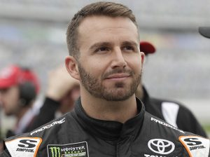 Matt DiBenedetto will drive for Joe Gibbs Racing at Road America later this month. (HHP/Harold Hinson Photo)