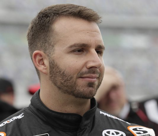 Matt DiBenedetto has confirmed he won't return to Leavine Family Racing in 2020. (HHP/Harold Hinson Photo)