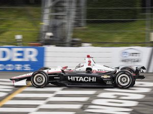 Josef Newgarden will start Sunday's NTT IndyCar Series race at Pocono Raceway from the pole. (Dennis Bicksler Photo)