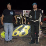 Jesse Bailey in victory lane.