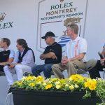 Fans got to enjoy a discussion among several IMSA legends during the Rolex Monterey Motorsports Reunion. (IMSA Photo)