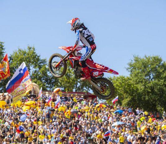 Tim Gajser has entered the Monster Energy Cup in Las Vegas. (Honda Photo)