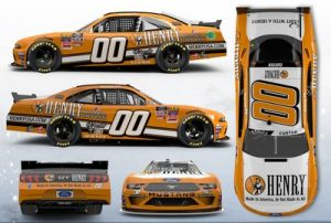 The Henry Repeating Arms No. 00 Ford Mustang will be driven by Stewart-Haas Racing with Fred Biagi driver Cole Custer at Road America.