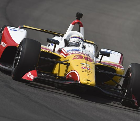 Rahal Letterman Lanigan Racing has come to the defense of driver Takuma Sato following Sunday's race at Pocono Raceway. (IndyCar Photo)