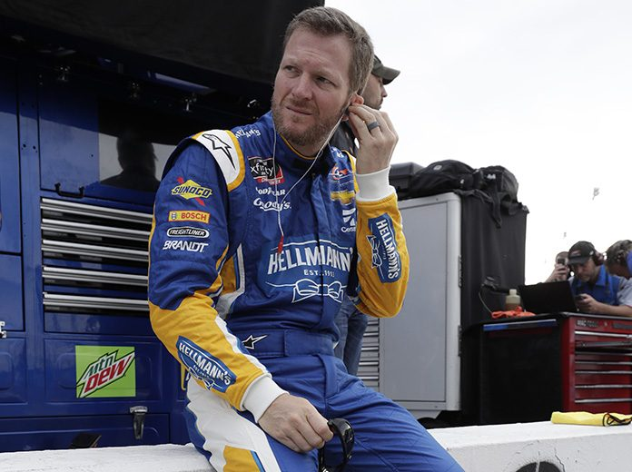 Dale Earnhardt Jr. still plans to race at Darlington Raceway on Aug. 31. (HHP/Harold Hinson Photo)