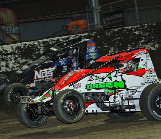 PHOTOS: USAC Sprints Tackle