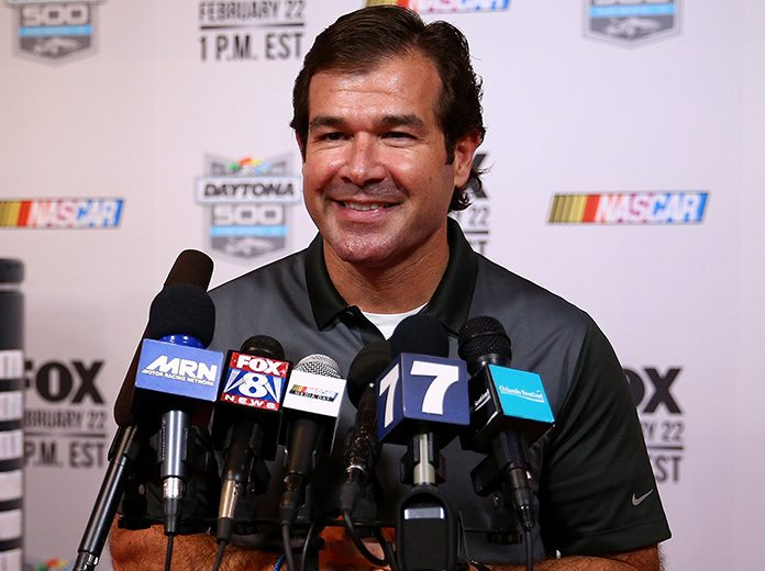 Joie Chitwood III will leave the International Speedway Corp. at the end of November. (NASCAR Photo)