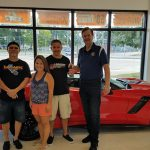 Josh Roberts was the winner of the National Sprint Car Hall of Fame's 2019 Torch Red ZO6 Corvette Sweepstakes.
