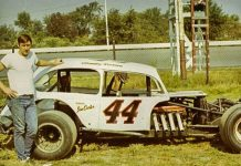 Bentley Warren will turn laps in the No. 44 Coach Mod, the same car he piloted to many wins during his career, at Oswego Speedway on Aug. 30.