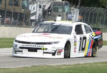 A.J. Allmendinger is on the pole for Saturday's NASCAR Xfinity Series race at Road America. (Nicholas Dettmann Photo)