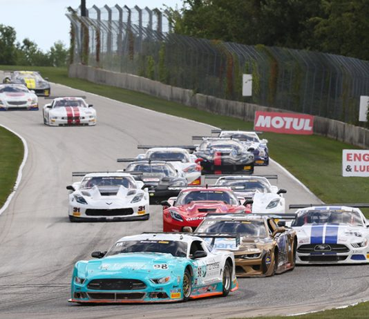 Ernie Francis Jr. leads the Trans-Am Series TA field Saturday at Road America.