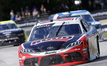 Christopher Bell raced to his first victory on a road course Saturday afternoon at Road America. (HHP/Andrew Coppley Photo)