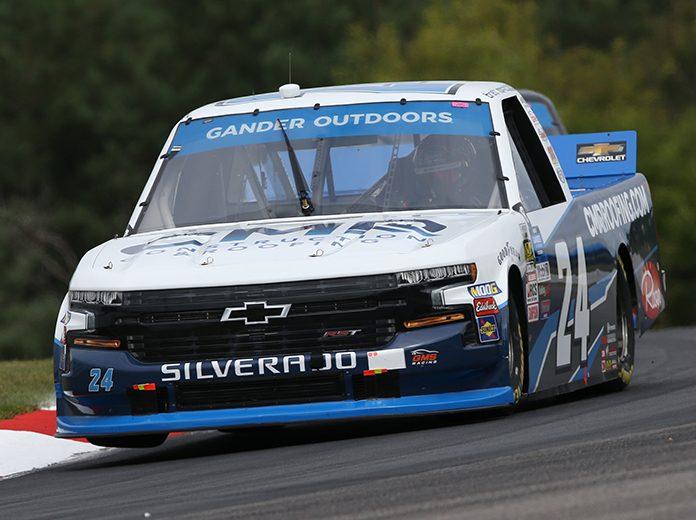 Brett Moffitt was in his own class Sunday at Canadian Tire Motorsport Park. (NASCAR Photo)