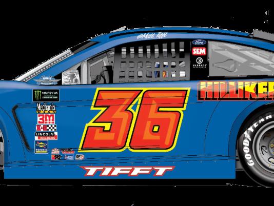 Matt Tifft's car will honor Michigan Motorsports Hall of Famer David Hilliker during the Bojangles Southern 500.