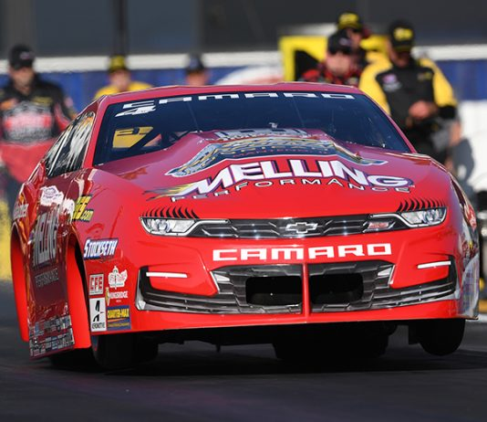 Erica Enders is hoping to have another memorable moment during the Chevrolet Performance U.S. Nationals. (NHRA Photo)