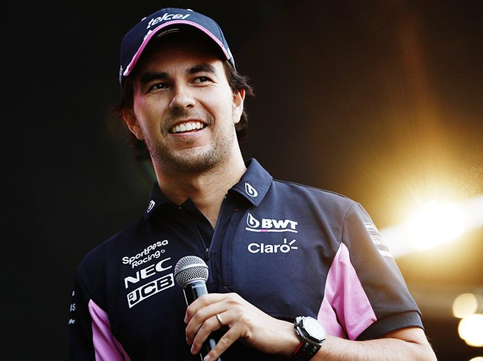 Sergio Perez has signed a multi-year contract extension with Racing Point. (Racing Point Photo)