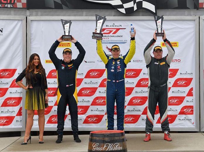 Johan Schwartz (second from right) won Sunday's TC event at Watkins Glen Int'l.