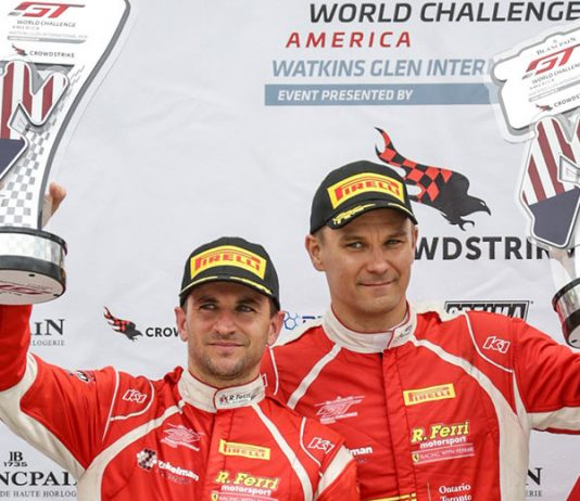 Toni Vilander and Daniel Serra won for the second time in as many days Sunday at Watkins Glen Int'l.