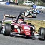 Kyle Kirkwood swept the weekend at Portland Int'l Raceway in Indy Pro 2000.