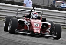 Hunter McElrea raced to his second-straight USF2000 triumph Sunday at Portland Int'l Raceway. (Al Steinberg Photo)