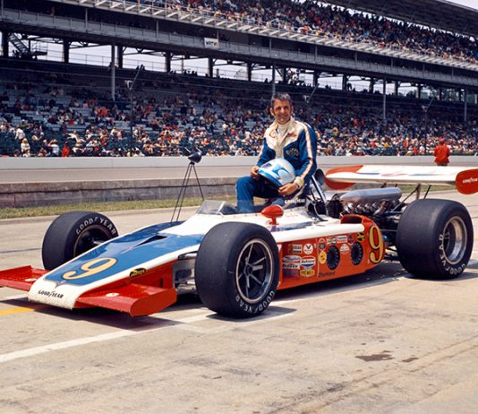 Sammy Sessions at Indianapolis Motor Speedway in 1973. (IMS Photo)