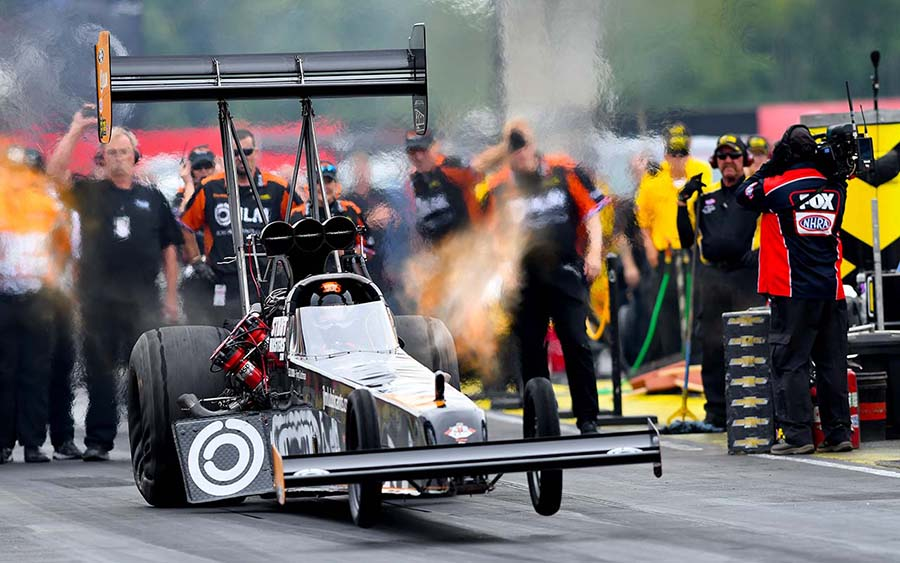 Lex Joon during the Chevrolet Performance U.S. Nationals at Lucas Oil Raceway. (Kent Steele Photo)