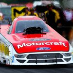 Bob Tasca III during the Chevrolet Performance U.S. Nationals at Lucas Oil Raceway. (Kent Steele Photo)