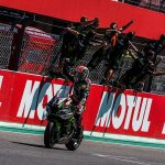 Jonathan Rea raced to victory in World Superbike action Saturday in Portugal. (WorldSBK Photo)