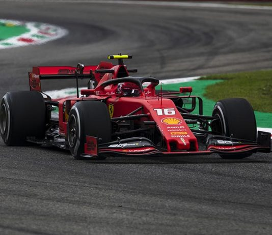 Charles Leclerc earned the pole for the Italian Grand Prix. (Ferrari Photo)