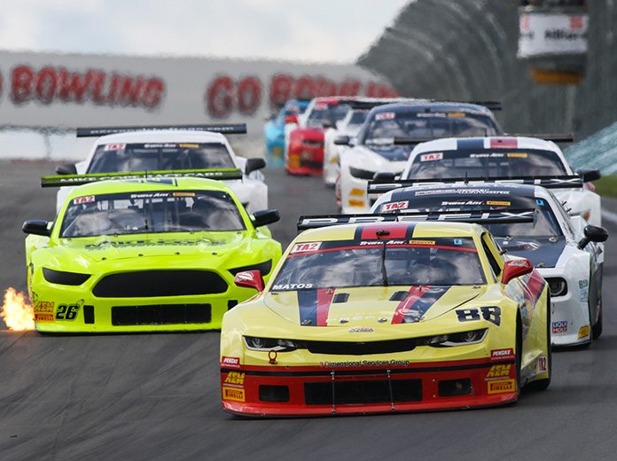 Rafa Matos raced to victory Saturday at Watkins Glen Int'l.