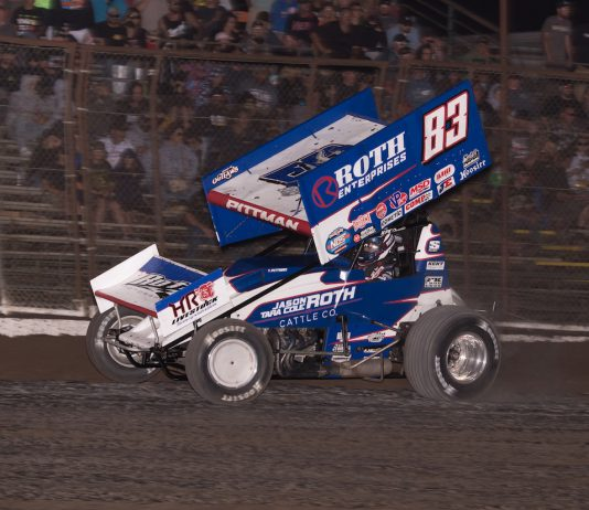 Daryn Pittman won Saturday's Gold Cup Race of Champions. (Devin Mayo photo)