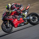Álvaro Bautista raced to victory in Sunday's World Superbike race at the Algarve Int'l Circuit. (Ducati Photo)