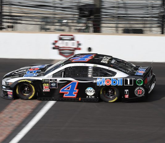 Debris Leaves Harvick