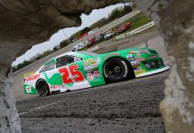 Michael Self is hoping for a repeat at Salem Speedway this week. (ARCA Photo)