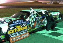 Patrick Staropoli is hoping to take home a $10,000 victory this weekend at Citrus County Speedway during the Full Throttle 100. (Photo Courtesy of Patrick Staropoli)