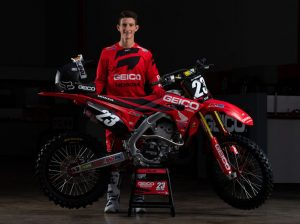 Chase Sexton will join the Team Honda HRC brand for the 2020 Lucas Oil Pro Motocross season. (Simon Cudby Photo)