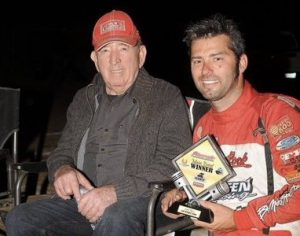 Morrie Williams (left) and Bud Kaeding. (M&M photo)