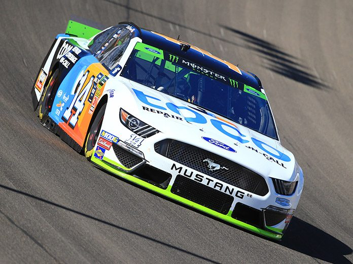 Clint Bowyer earned his first Monster Energy NASCAR Cup Series pole since 2007 on Saturday at Las Vegas Motor Speedway. (HHP/Jeff Fluharty Photo)