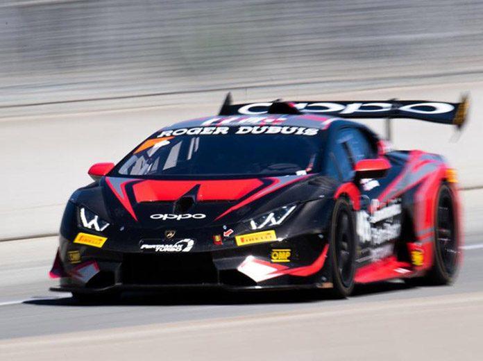Brandon Gdovic and Conor Daly raced to victory in Saturday's Lamborghini Super Trofeo North America feature at WeatherTech Raceway Laguna Seca.