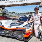 Ricky Taylor earned the pole for the Monterey SportsCar Championship at WeatherTech Raceway Laguna Seca. (Sarah Weeks Photo)