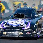 Jack Beckman earned his first Funny Car win of the year Sunday at Maple Grove Raceway. (Harry Cella Photo)