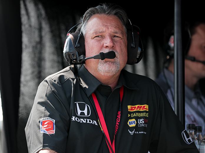 Michael Andretti is a two-time winner at WeatherTech Raceway Laguna Seca during his driving career. (IndyCar Photo)