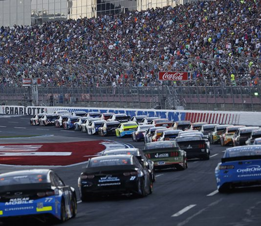 Speedway Motorsports Inc., the owners of Charlotte Motor Speedway and seven other tracks, has officially gone private. (HHP/Andrew Coppley Photo)