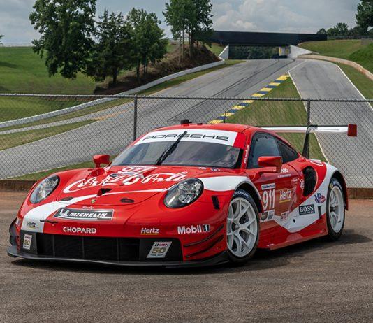 Coca-Cola will appear on both Porsche 911 RSR entries during the Motul Petit Le Mans. (Porsche Photo)